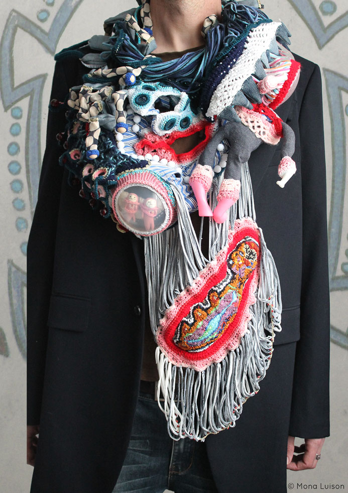 monaluison ,wearing sculpture ,tardigrade ,fashion